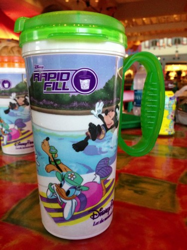 Rapid Fill Refillable RFID Mugs – Can They Only Be Used in the Resorts?