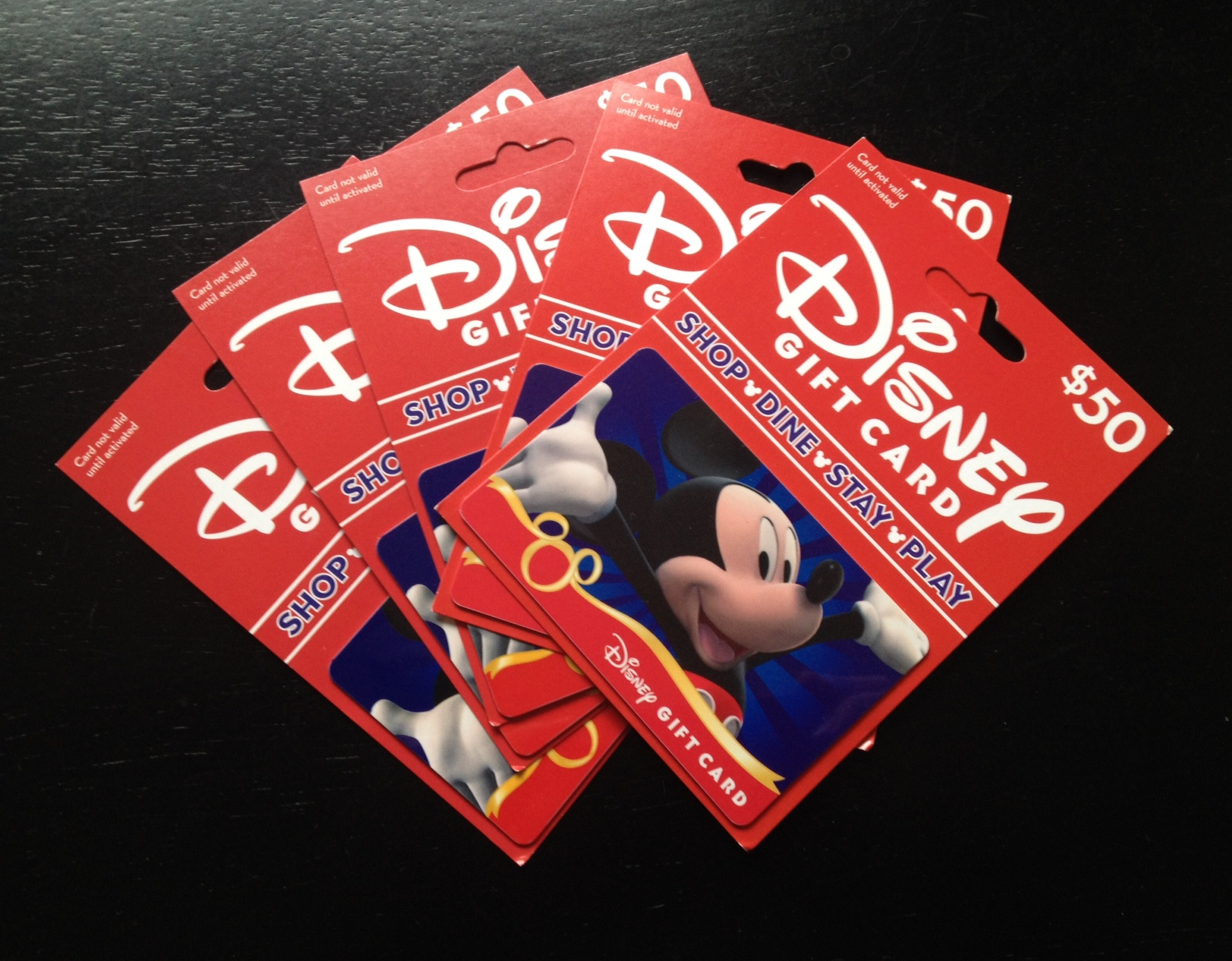 Can I Pay For My Entire Reservation With Disney Gift Cards?