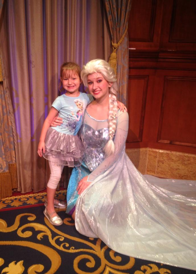 Why can't I get fast passes for Anna and Elsa Meet and Greet?