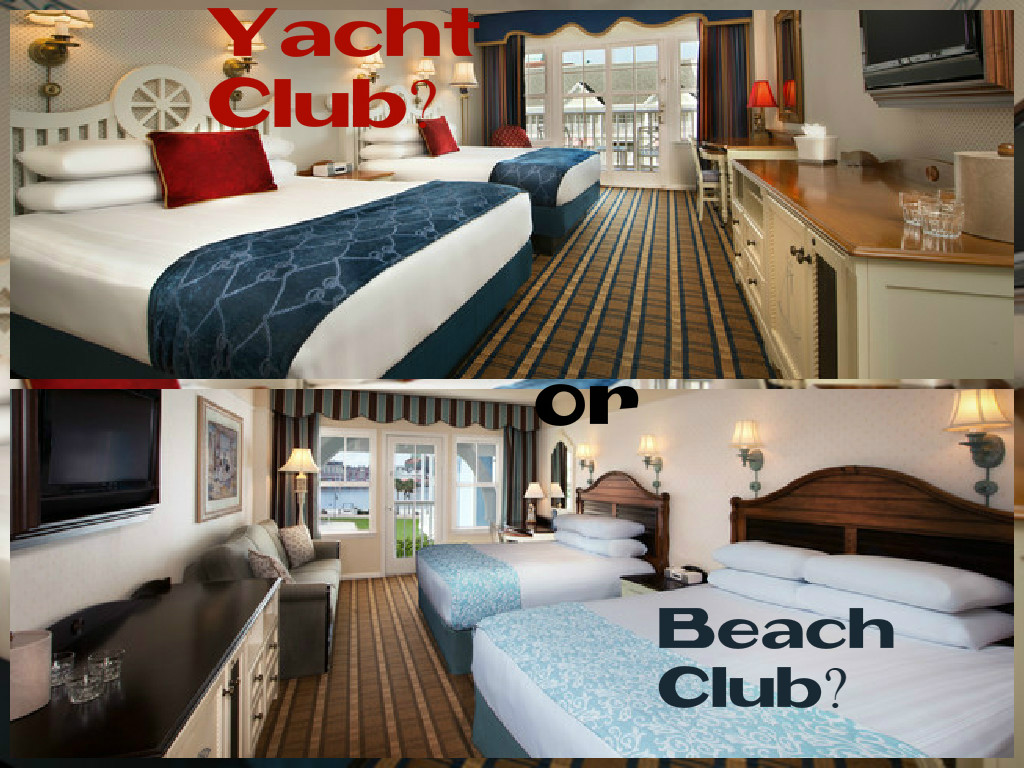 What S The Difference Between Disney Beach Club And Yacht Resorts