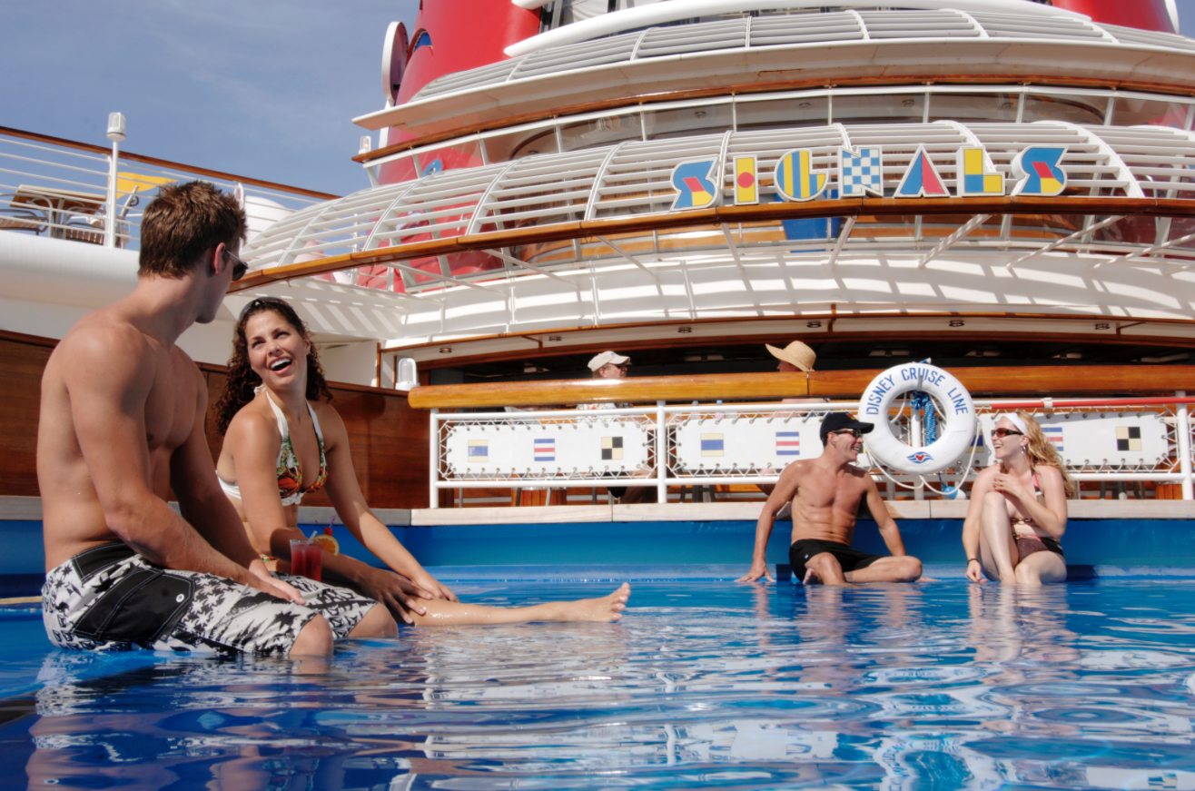 Are there adult-exclusive activities on the Disney Cruise Line?