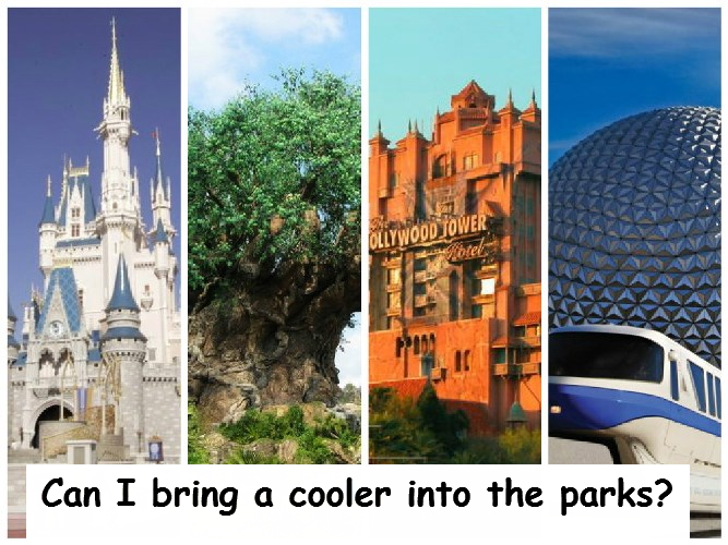 Can I Bring Outside Food into Walt Disney World in a Cooler