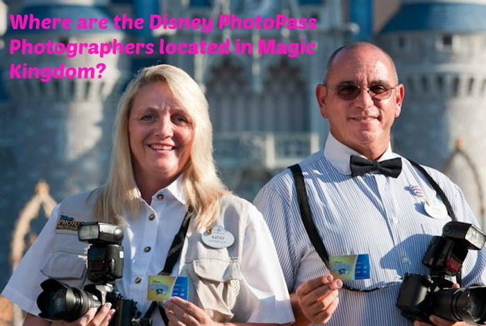 Where are the Disney PhotoPass Photographers located in Magic Kingdom?