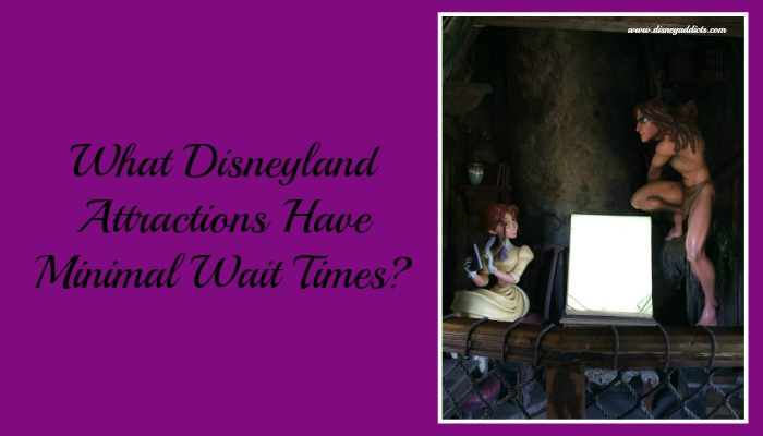 What Disneyland Attractions Have Minimal Wait Times?