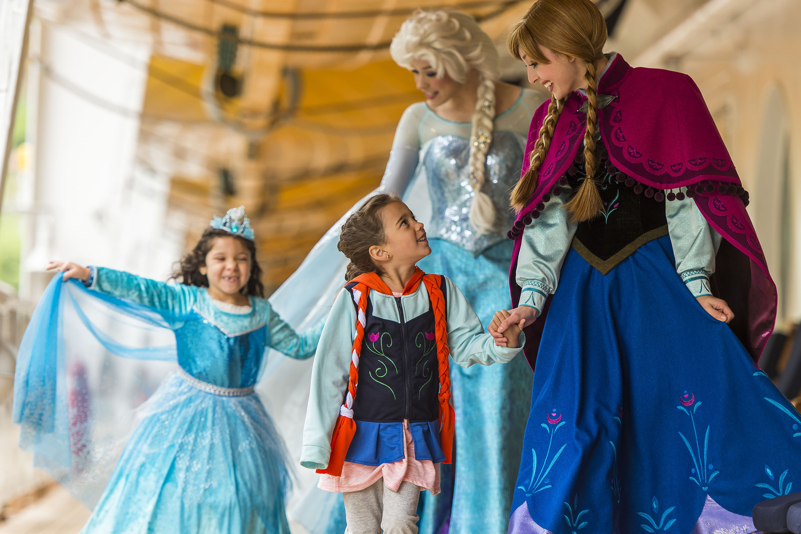 Can You Meet the Frozen Characters on a Disney Cruise?