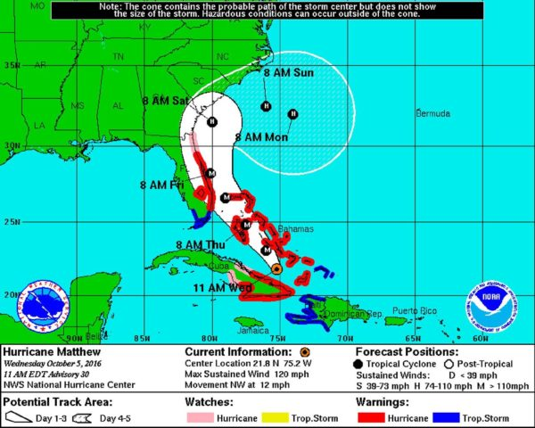 How is Disney Being Affected by Hurricane Matthew?