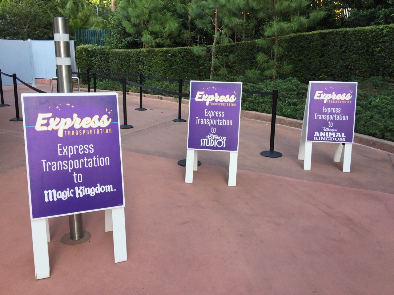 What You Need To Know About Disney World's Express Transportation Option