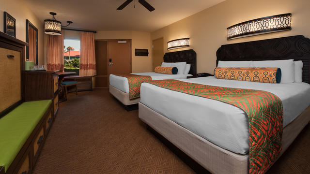 What Resorts at Walt Disney World Offer Rooms That Sleep 5 or More?
