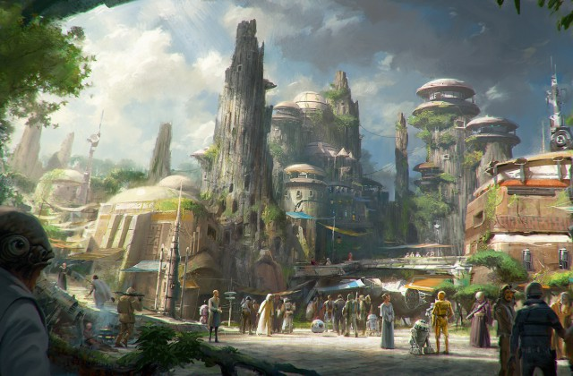 When will Avatar Land and Star Wars Land Open?