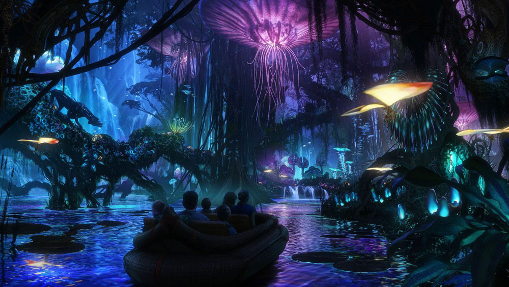 Closer Look at Na'vi River Journey at Animal Kingdom