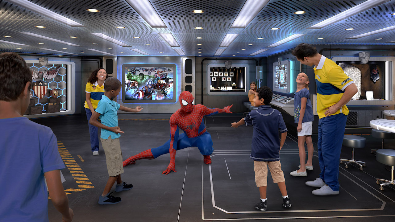 5 Must-Do Superhero Adventures Aboard Disney Cruise Line