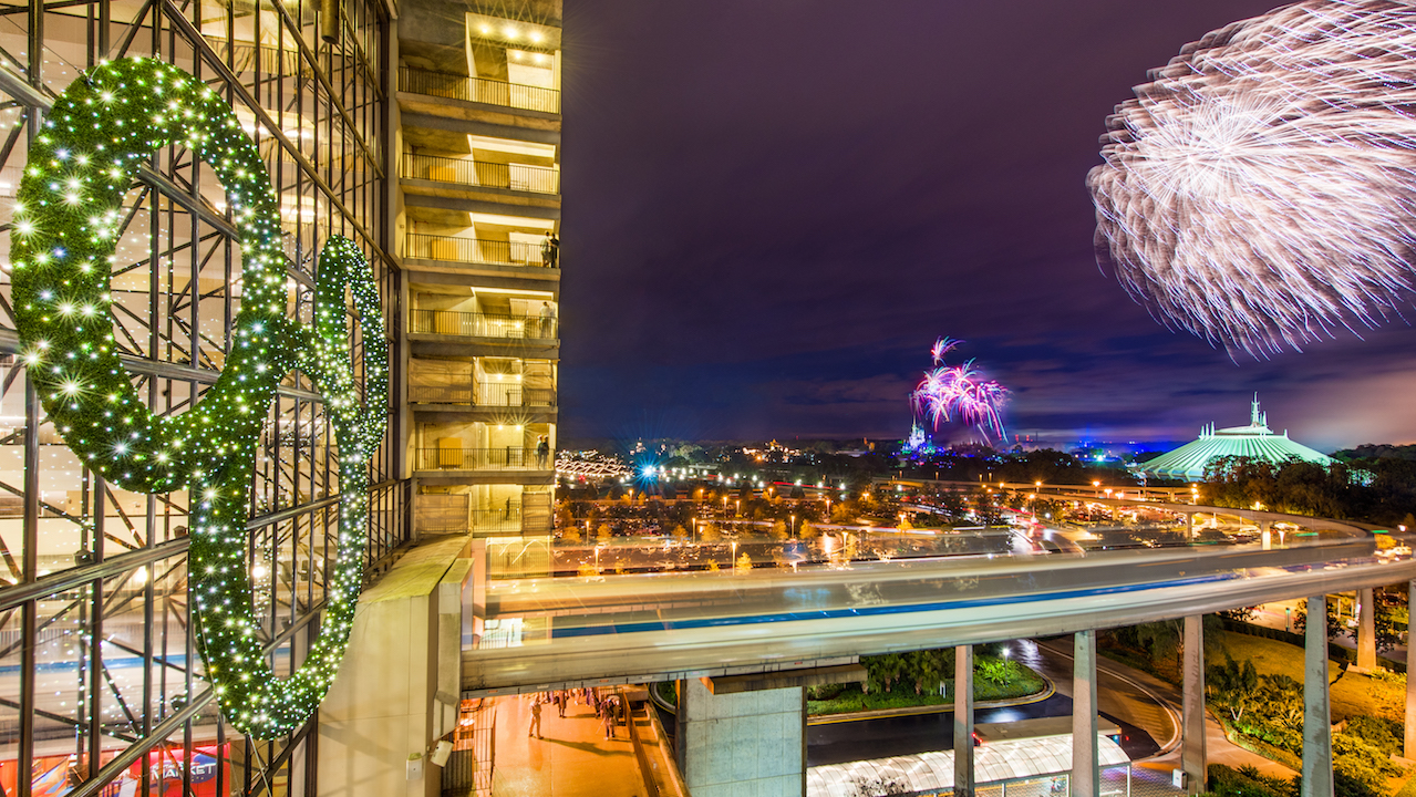 3 Ways to Celebrate the New Year at Disney's Contemporary Resort
