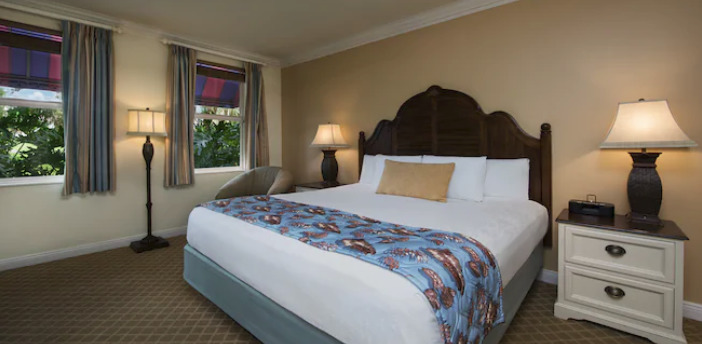 What Resorts Offer King Beds at Walt Disney World?