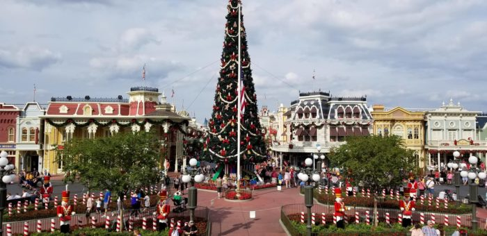 we here at disney addicts get asked quite a bit about the best times of year to plan a walt disney world vacation and for those with the freedom and - Disney World Christmas Decorations 2017