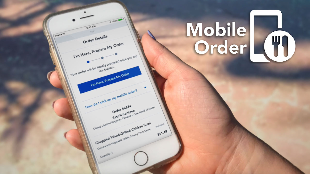Everything You Need to Know About Dining With Disney's Mobile Order Service