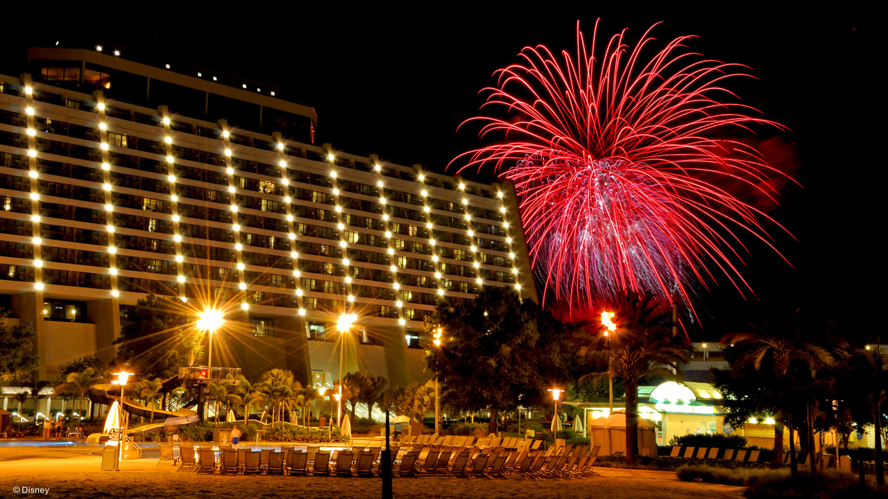 The History in Disney's Contemporary Resort Hotel