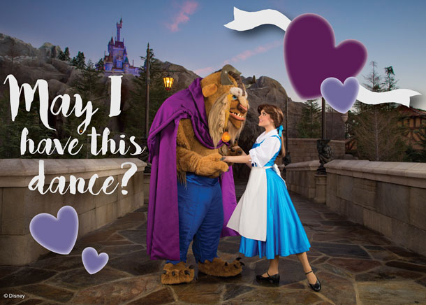 5 Disney-themed Valentine's Day Postcards Perfect for that Special Someone