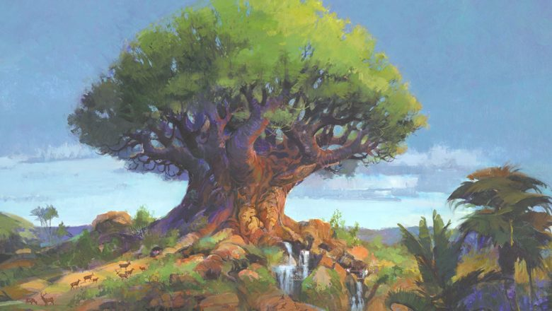 6 Stunning Original Concept Art Images to Celebrate 20 Years of Animal Kingdom