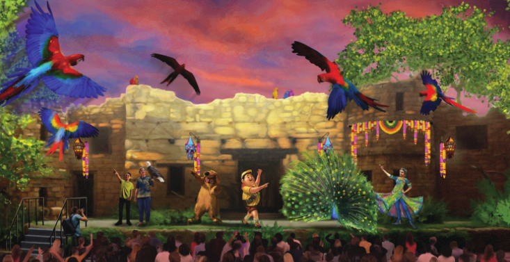 6 Fun Facts About Animal Kingdom's New Show UP! A Great Bird Adventure