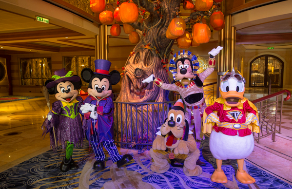 What are Halloween on the High Seas Sailings with Disney Cruise Line?