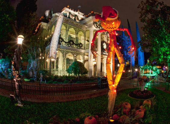 Fun Facts about the Haunted Mansion Overlay at Disneyland