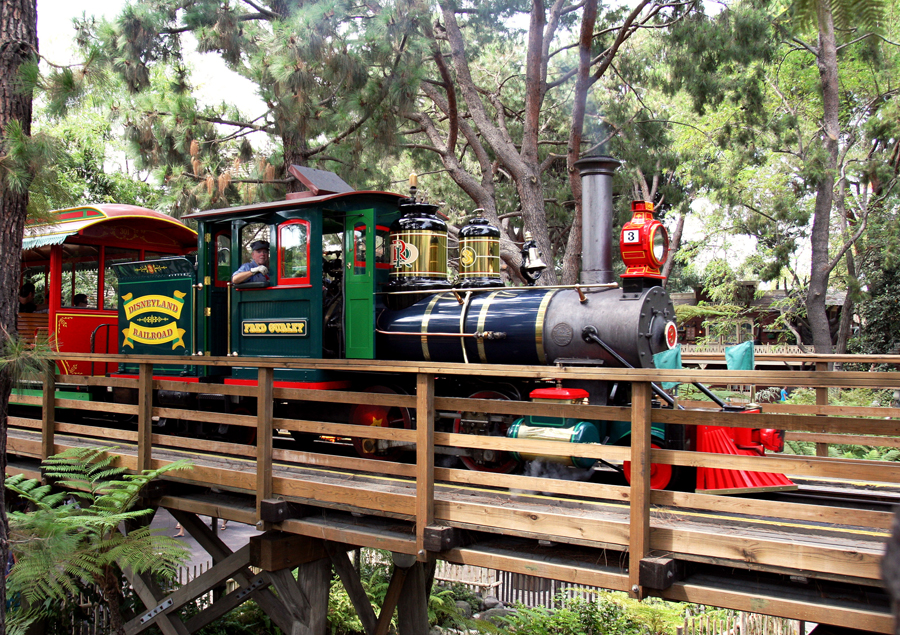 All Aboard the History of the Walt Disney Railroads