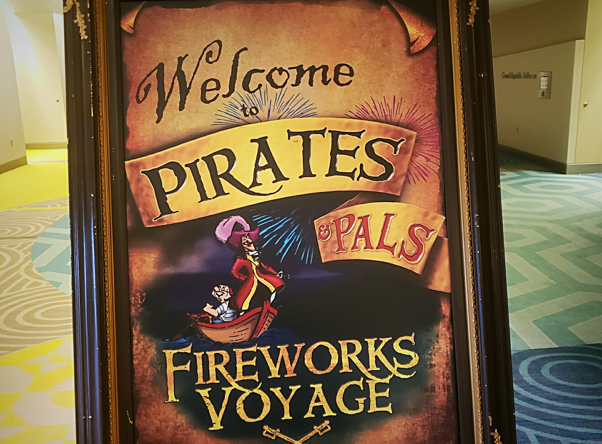 Pirate and Pals Fireworks Voyage Review