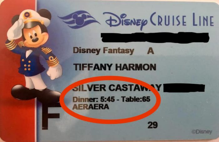 What is Rotational Dining on Disney Cruise Line?