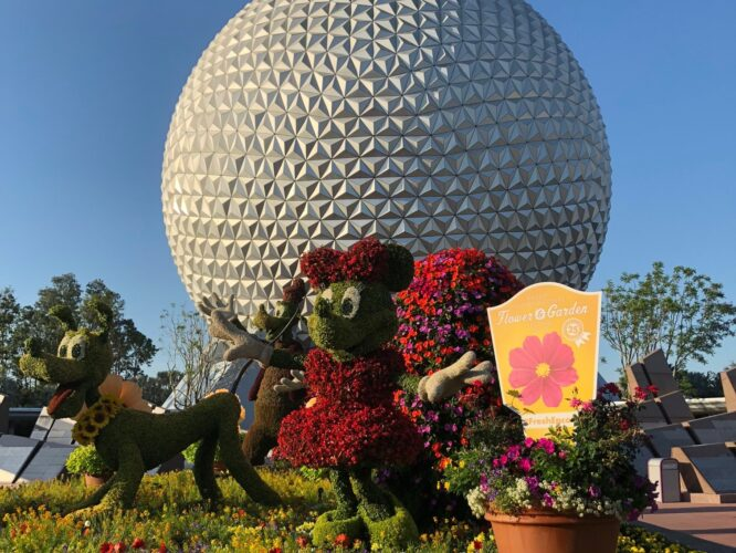 Epcot Flower and Garden Festival Food Booth Menus