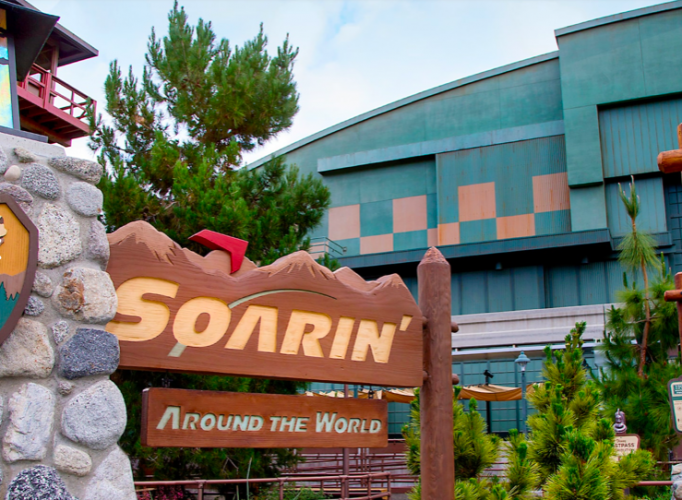 Soarin' Over the World in DCA