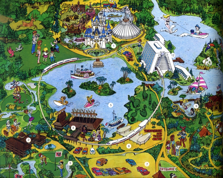 Seven Seas Lagoon: A Waterway for the World.