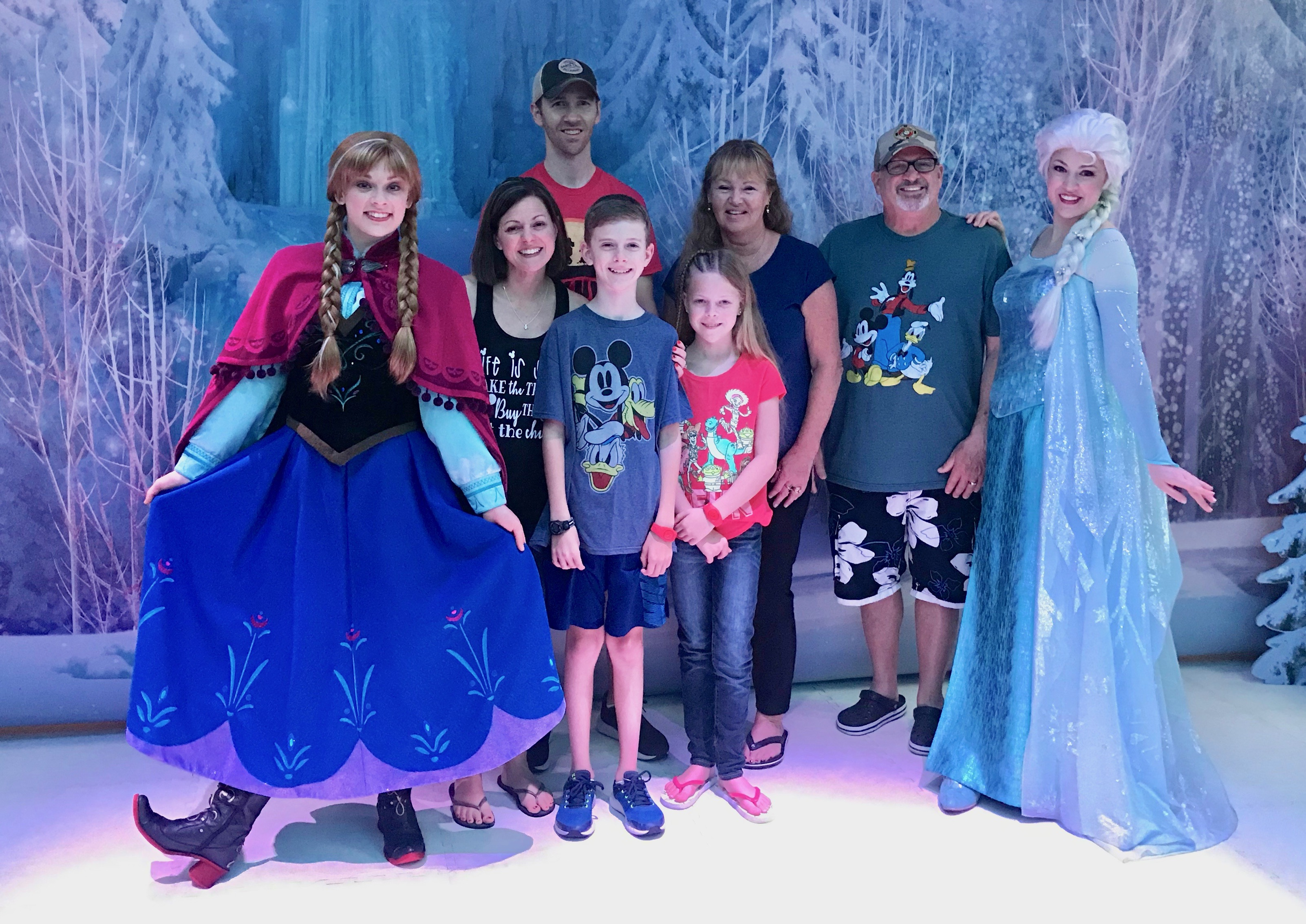 Magical Moments with Characters on a Disney Cruise