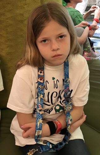 My daughter Sick on the Disney Cruise