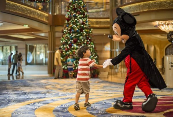 Celebrate The Holidays At Sea With Disney Cruise Line!