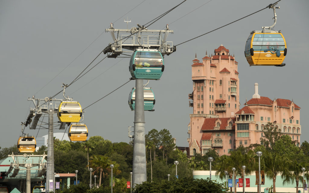 5 Things to Know Before Boarding the Disney Skyliner