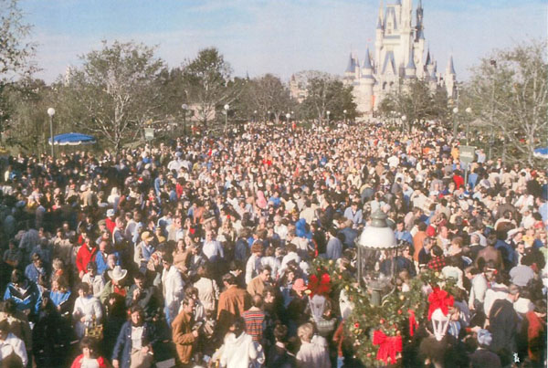 How To Handle The Crowds At Disney World