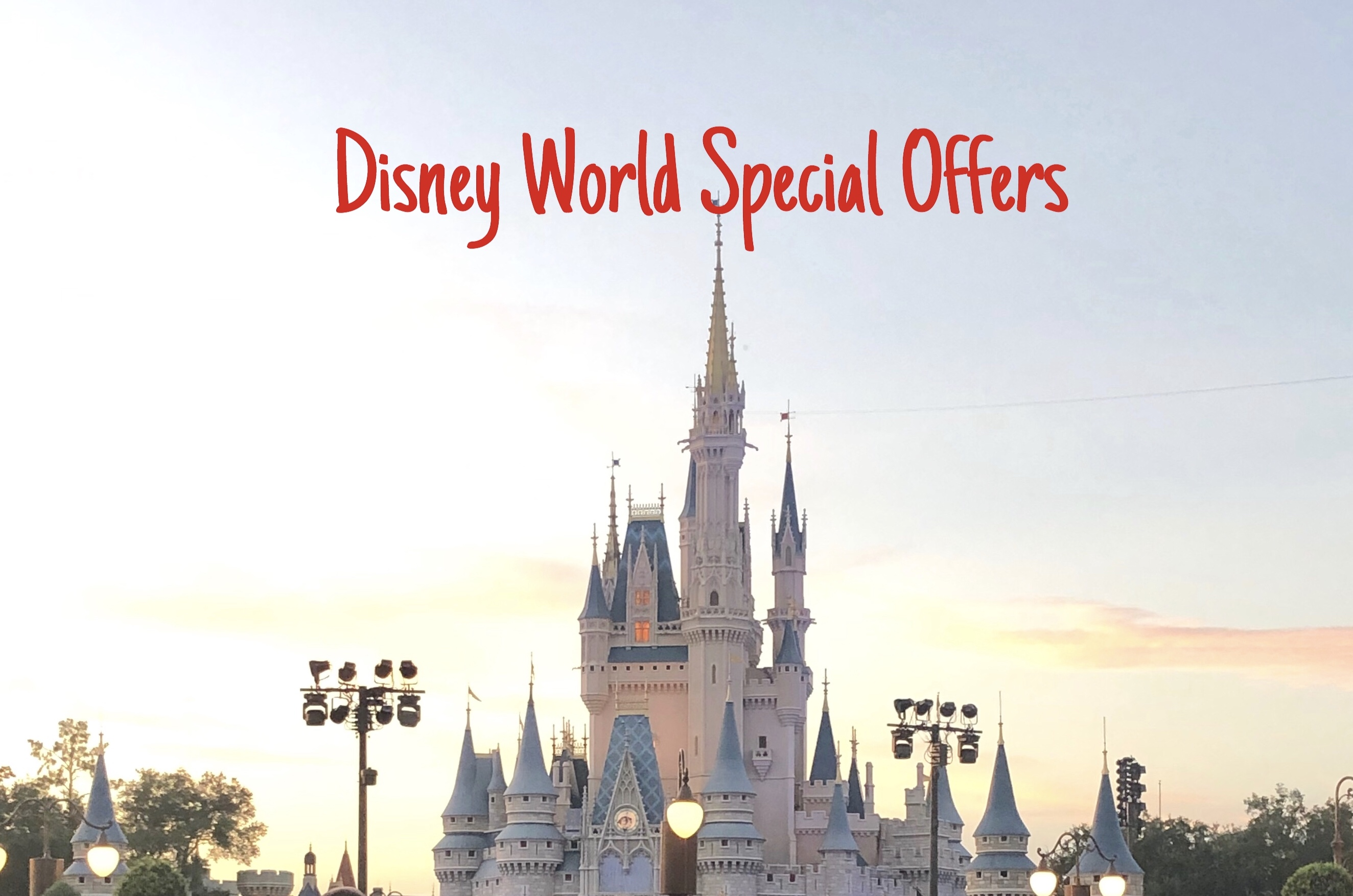 Discounts Released For Early 2020 at Walt Disney World