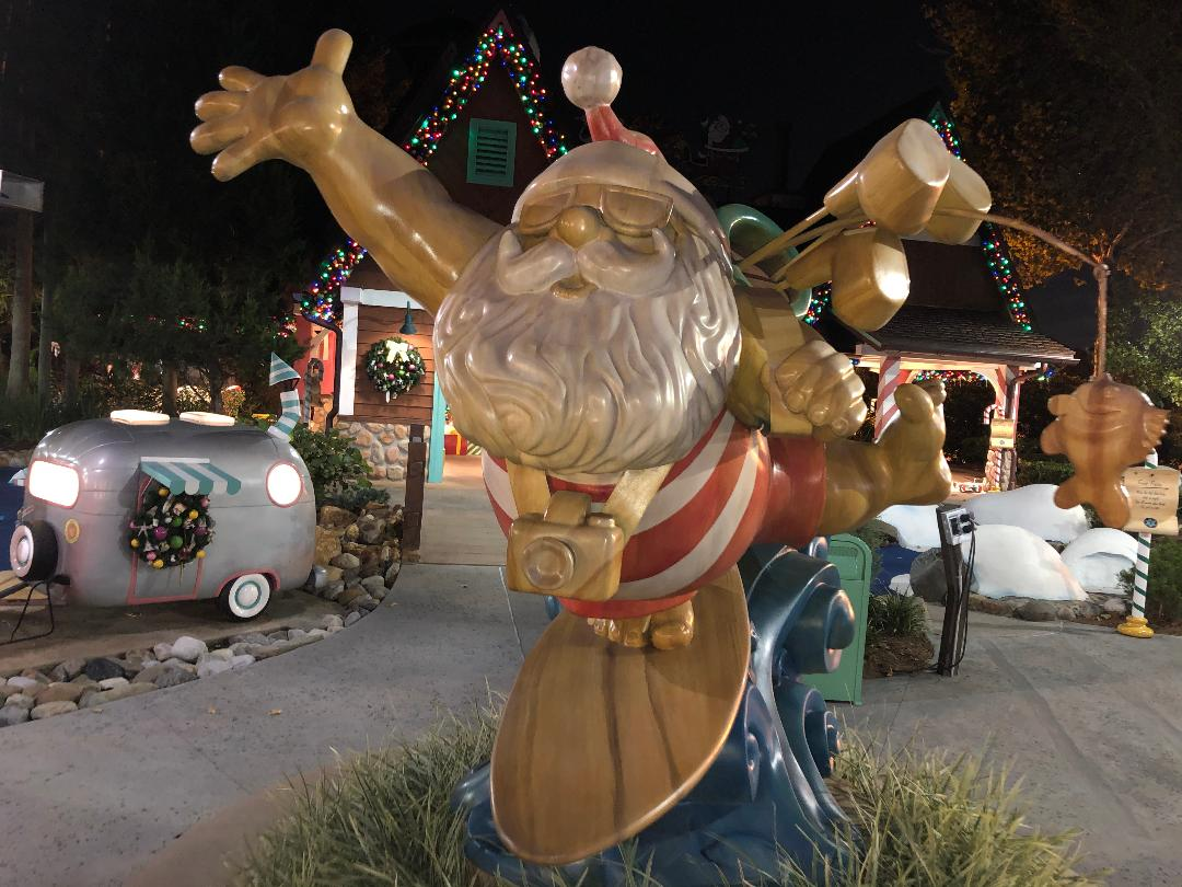 Winter Summerland: A Christmas Themed Mini Golf Course at Disney World
