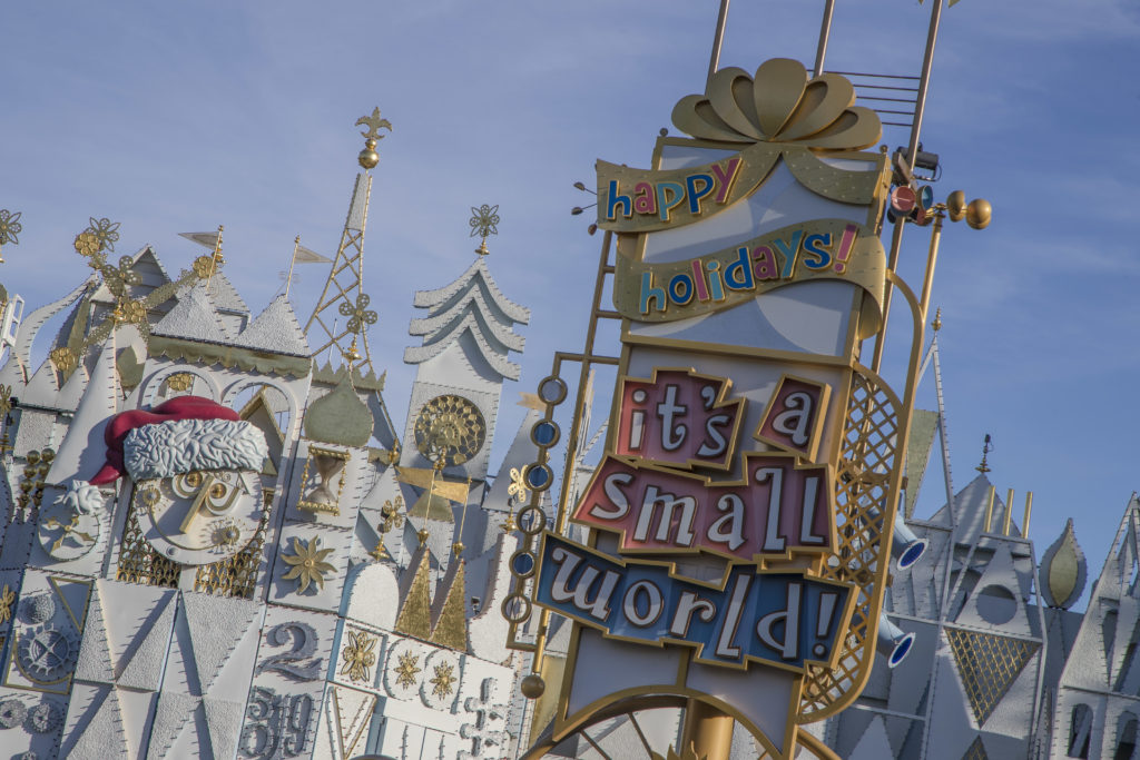 """Disneyland's """"it's a small world"""" Holiday Fun Facts"""