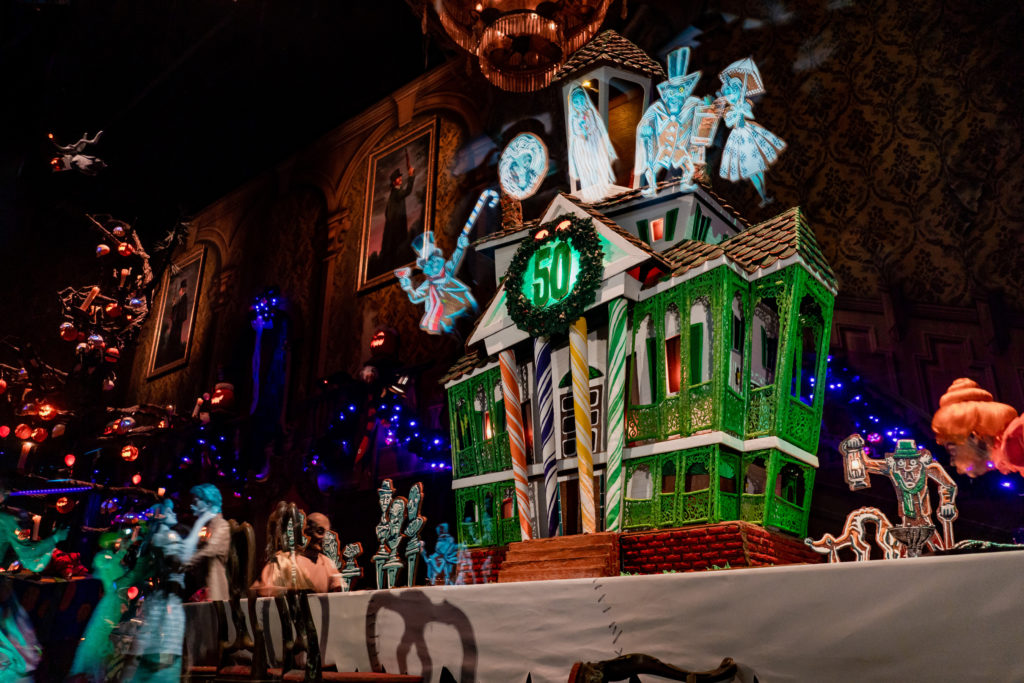 Where to Find Gingerbread Displays at the Disneyland Resort