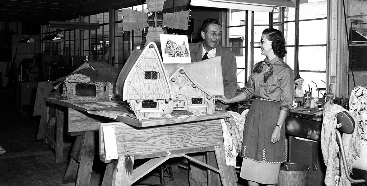 Walt Disney Imagineer Harriet Burns-First Female Imagineer