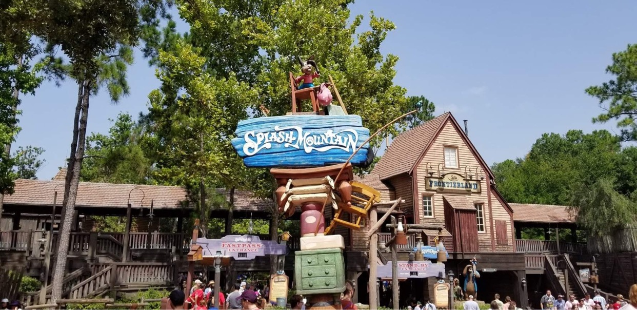 Why did Disney pick Princess & the Frog for Splash Mountain update?