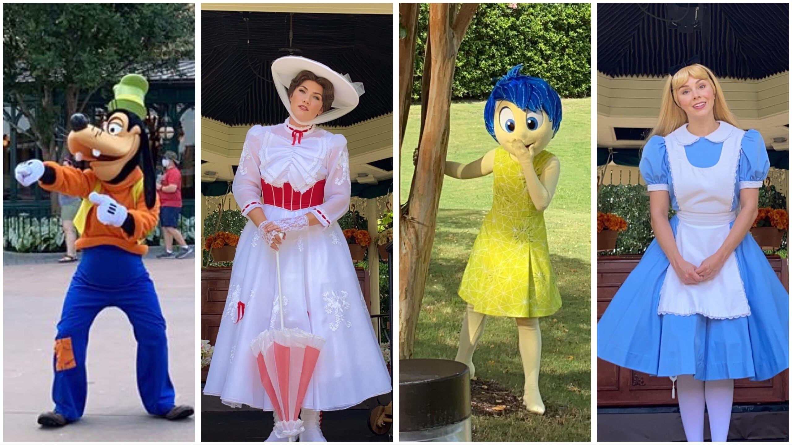 Some Of The New Character Experiences At Epcot!