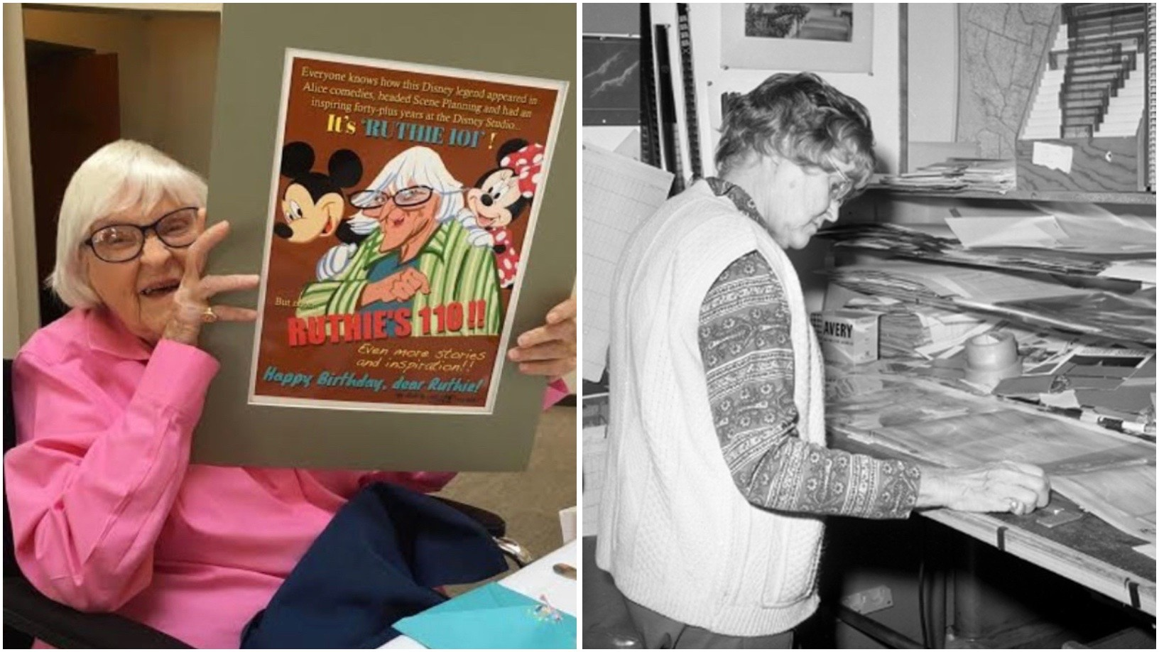 Disney Legend And Animator Ruthie Tompson Celebrates Her 110th Birthday!