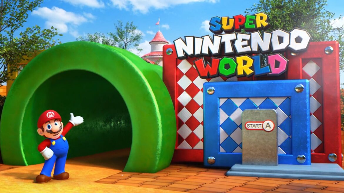 Construction Update Of Super Nintendo World At Universal Studios Hollywood!