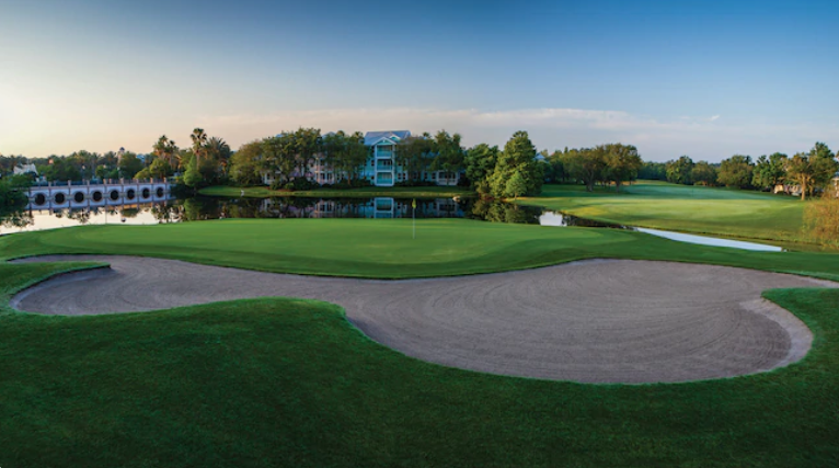 Where can I Golf at Walt Disney World?