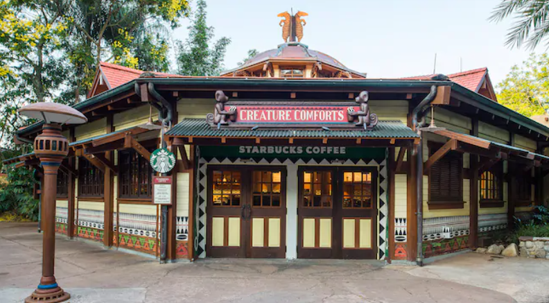 Where to find coffee at Walt Disney World Theme Parks?