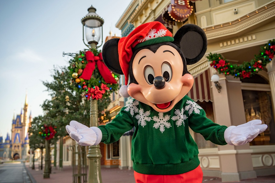 The Holidays Will Start November 6 at Walt Disney World Resort