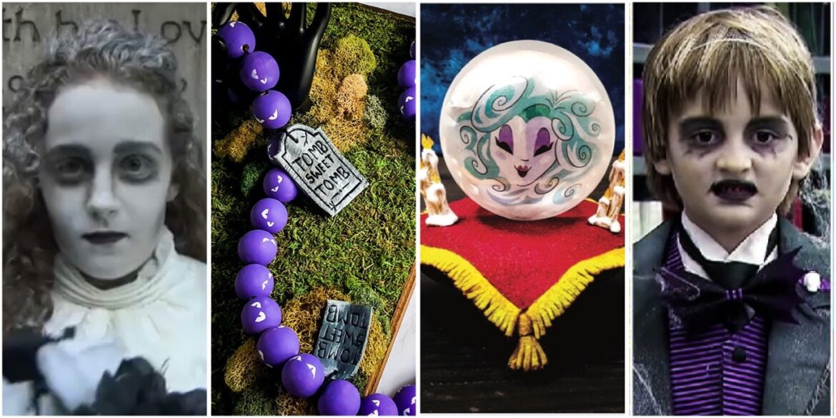 Get Ready For Halloween With These Haunted Mansion Inspired DIY Projects!