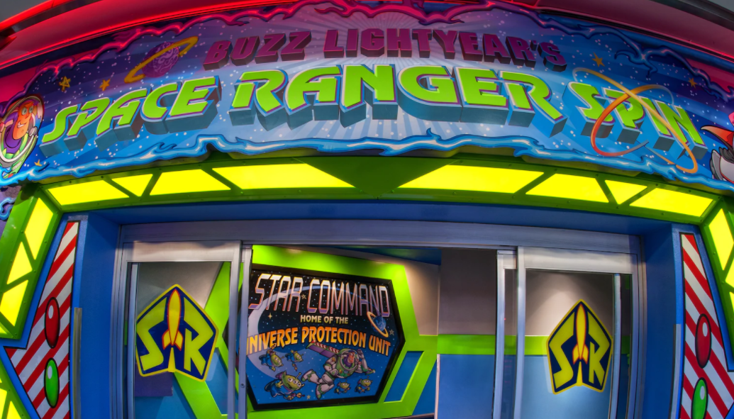 5 Fun Facts About Buzz Lightyear's Space Ranger Spin